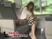 Japanese MILF Made This Train Travel Unfo ...