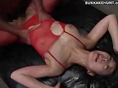 Asian Teen and Some Cumshots